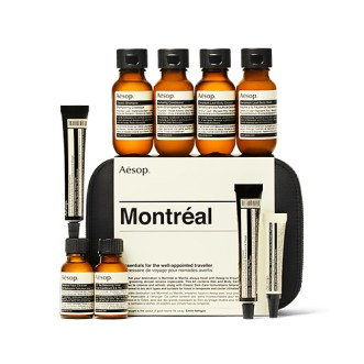 Aesop Montreal travel essentials