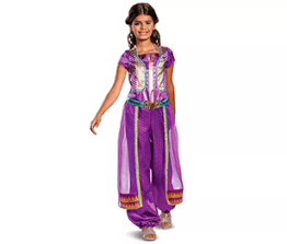 Girls' costume- Jasmine from Disney's live action Aladdin movie