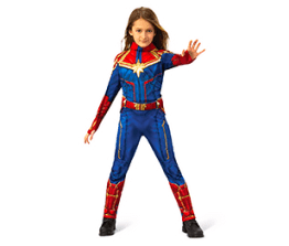 Girls' costume- Captain Marvel