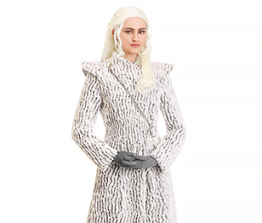 Ladies' Costume- Daenerys Targaryen Dragonstone Snow