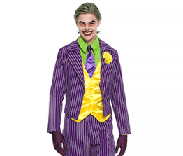 Men's Costume- DC Comics Joker