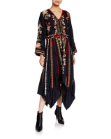 Tolani Clara Embroidered Dress