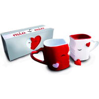 Mia Mio Kissing Mugs