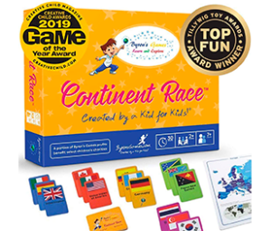 Byron's Games Continent Race