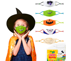 Crayola Reusable Cloth Kids Face Mask