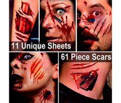 Hanpure Zombie Halloween Makeup