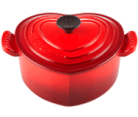 Le Creuset Enameled Cast Iron Heart-Shaped Dutch Oven