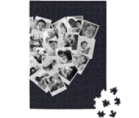 Minted Collage Heart