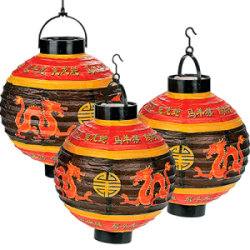 Oriental Trading Light-Up Chinese Lanterns