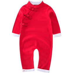 XM Nyan Toddler Buckle Design Romper Outfit