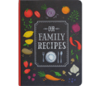 Peter Pauper Press Our Family Recipes Journal Diary