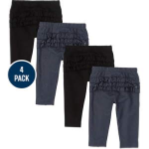 The Children's Place Baby Girls Pants 4 Pack