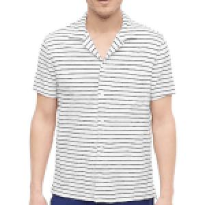J. Crew Beach Terry Camp Collar Shirt