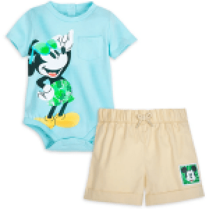 Shop Disney Tropical Bodysuit and Shorts Set