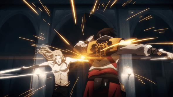 Castlevania-Alucard-vs-Trevor-Belmont