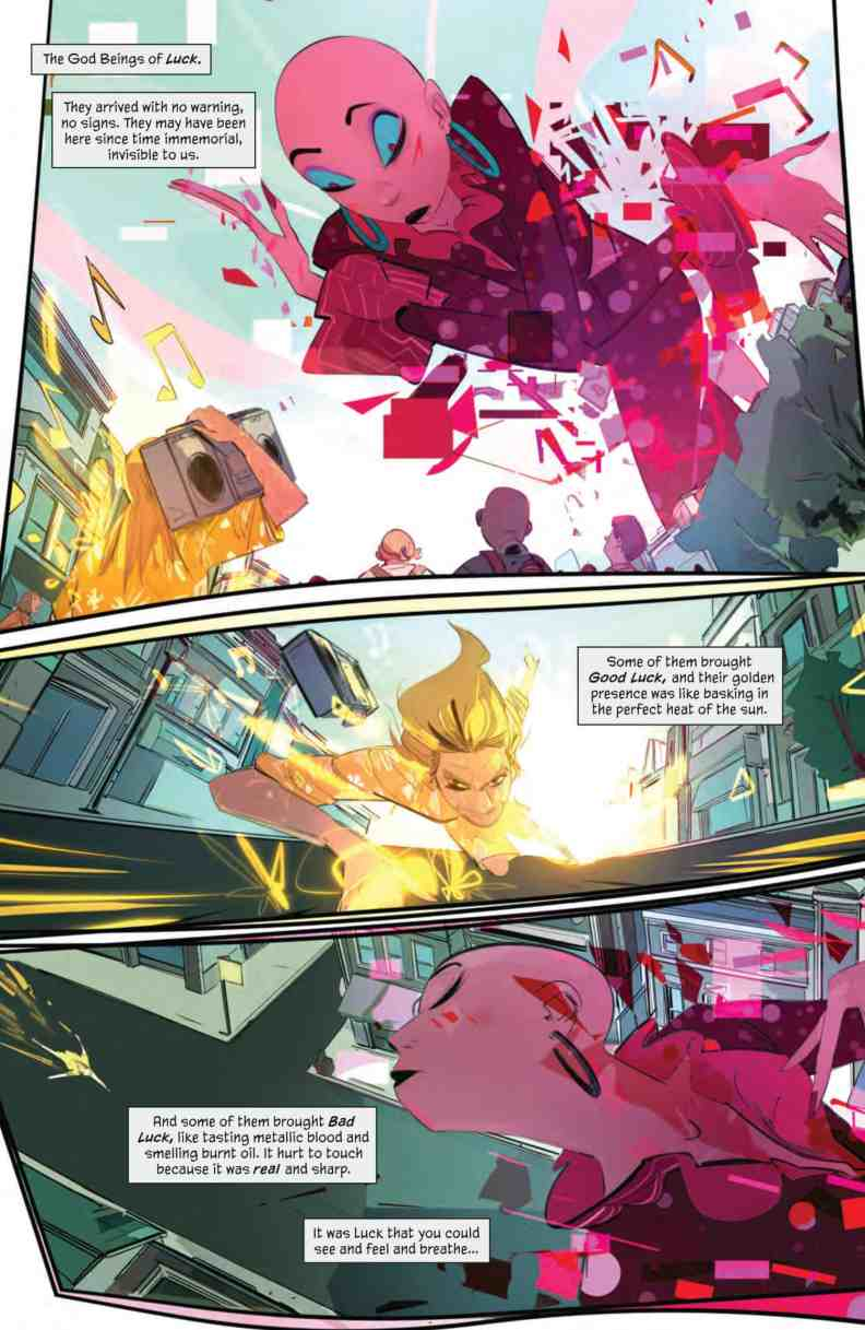 SNEAK PEEK: Preview of BOOM! Studios GOOD LUCK #1 - Comic Watch