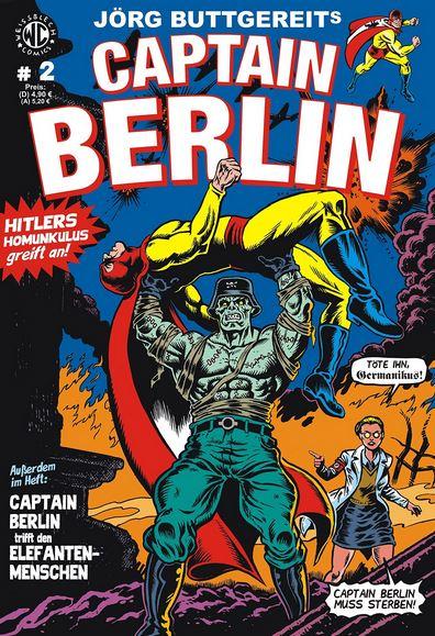 Jörg Buttgereits CAPTAIN BERLIN 2