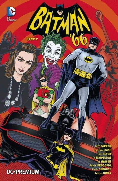 DC PREMIUM 89 BATMAN 66 Band 2 SOFTCOVER