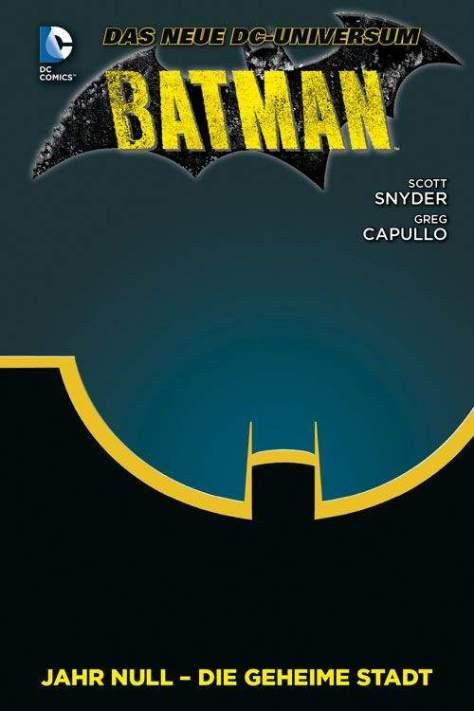 Batman: Jahr Null – Die geheime Stadt BATMAN PAPERBACK 04 LIM  HARDCOVER auf 444 Exemplare limitiertes HC