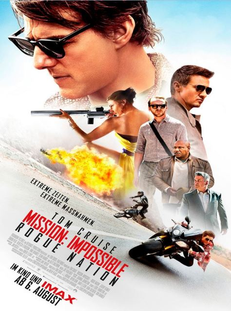 Mission: Impossible V – Rogue Nation