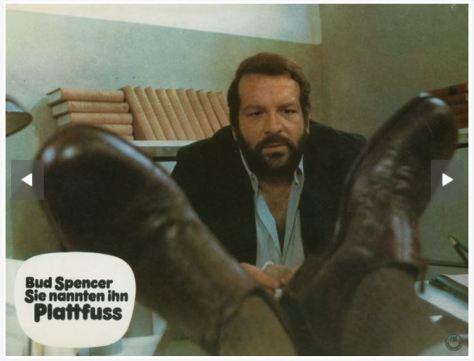 Bud Spencer: Sie nannten ihn Plattfuss