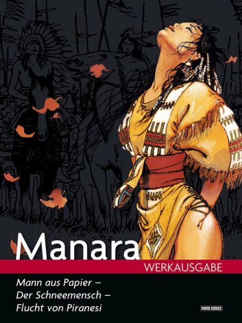 Manara Werkausgabe 16: Der Mann aus Papier
