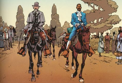 Django Unchained als Comic