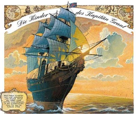 Alexis Nesme: Die Kinder des Kapitän Grant
