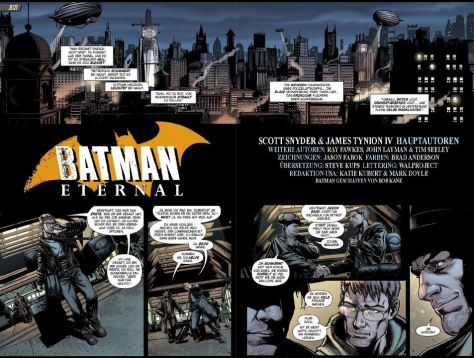 Batman Eternal – Verschwörung in Gotham