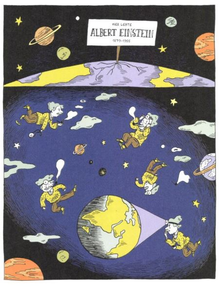 Einstein - Die Comic-Bigraphie