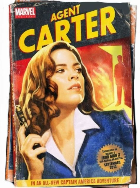 Iron Man 3 AGENT CARTER