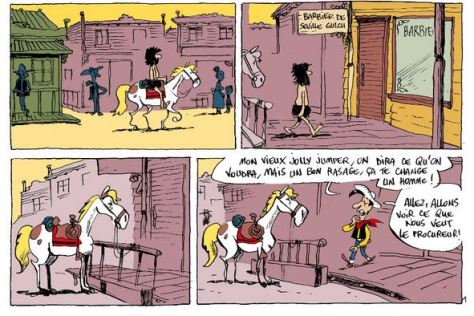 Reddition 64: Lucky Luke