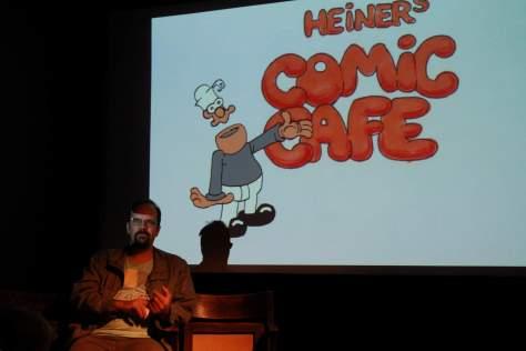 Bilder vom Comic Café vom 25.09.2016