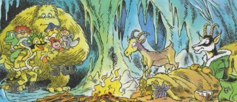 Lurchi und der Yeti – Das lustige Salamanderheft # 156