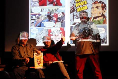 Bilder vom Comic Café vom 05.02.2017