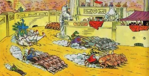 Das große Rennen – Lurchis Abenteuer - Das lustige Salamanderheft # 157