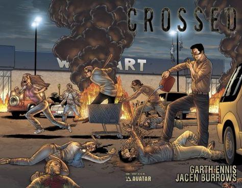 Garth Ennis: Crossed
