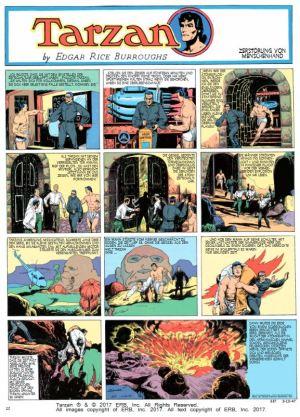 Tarzan Sonntagsseiten, Band 9, 1947 – 1948