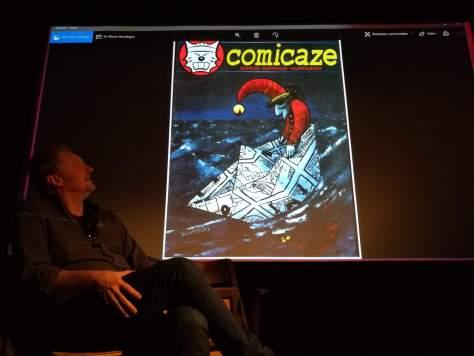 Bilder vom Comic Café vom 01.07.2018