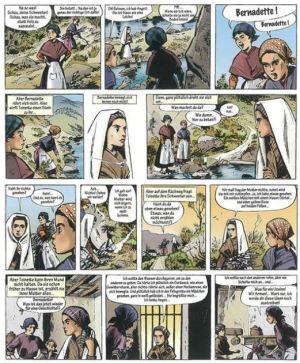 Jijé: Bernadette von Lourdes