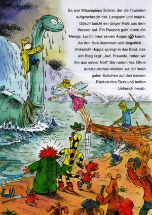 Lurchi und das Ungeheuer von Loch Ness