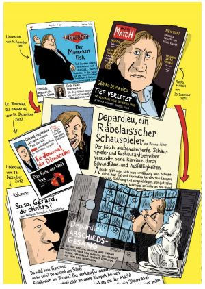 Gérard – Fünf Jahre am Rockzipfel von Depardieu