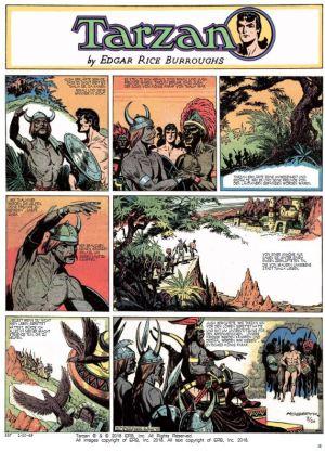 Tarzan Sonntagsseiten, Band 9, 1949 – 1950