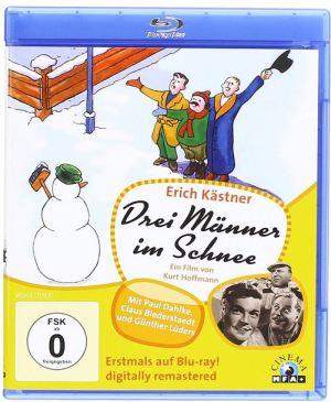Drei Männer im Schnee