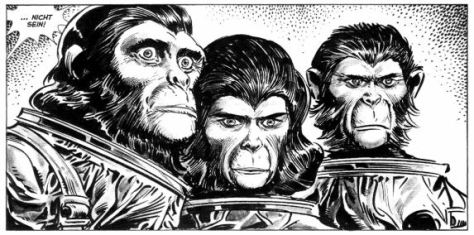 Planet der Affen – Archiv 3