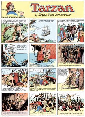 Tarzan Sonntagsseiten, Band 1, 1931 – 1932