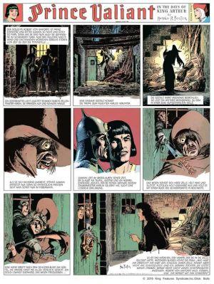 Hal Foster: Prinz Eisenherz, Jahrgang 1941/1942
