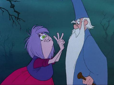 Walt Disney: Die Hexe und der Zauberer
