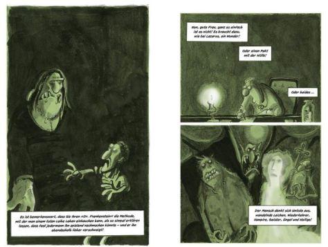 Ralf König: Frankenstein