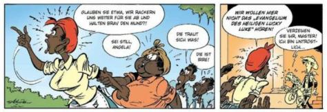 Lucky Luke: Fackeln im Baumwollfeld